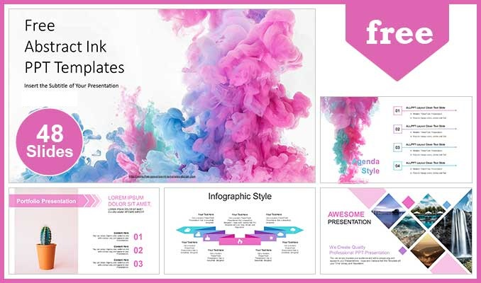 Abstract-Ink-Drop-PowerPoint-Templates-posting