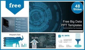 Big Data Visualization Presentation Template