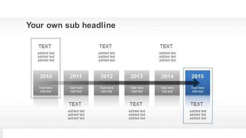 Six Years Timeline Slide Feature Image