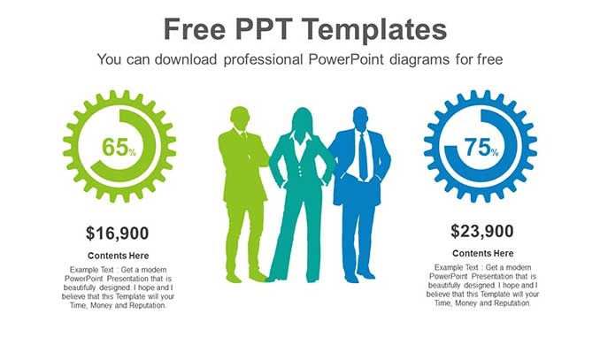 Business People Chart Slide Feature Image