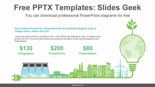 Green-Energy-PowerPoint-Diagram Feature Image