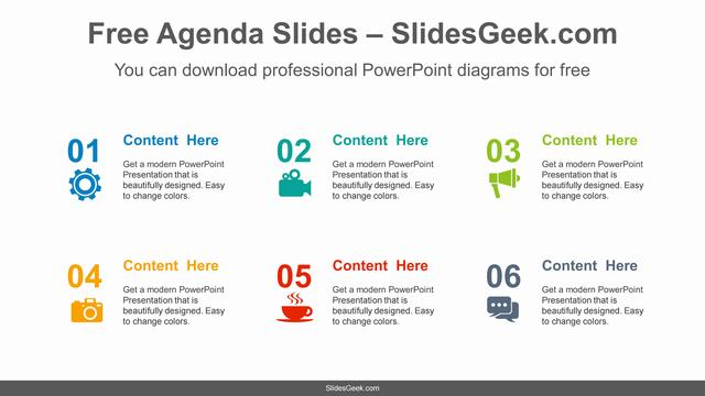 Icon-Number-List-PowerPoint-Diagram Feature Image