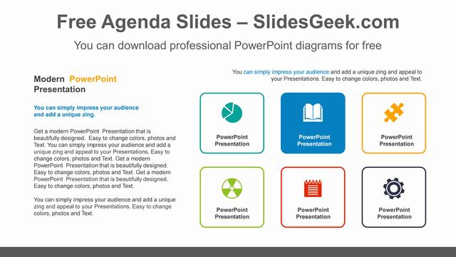 Icon-Text-Box-PowerPoint-Diagram Feature Image