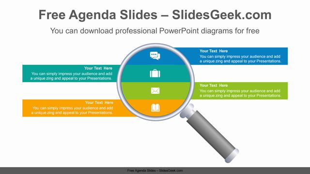 Magnifying-Glass-PowerPoint-Diagram Slide Feature Image