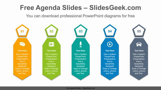 Mens-ties-PowerPoint-Diagram-Template Feature Image