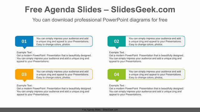 Numbered-text-box-PowerPoint-Diagram-Template Feature Image