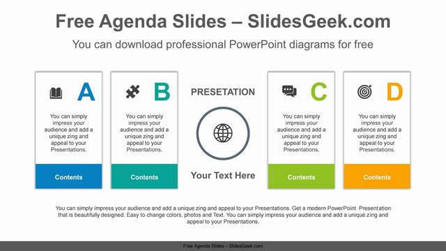 Numbering-text-box-PowerPoint-Diagram-Template Feature Image