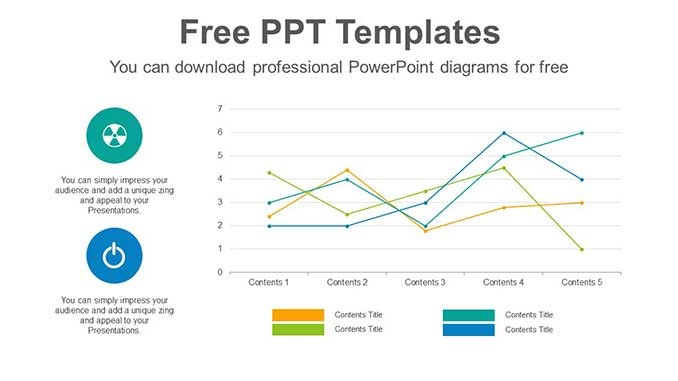Simple Line Chart Slide Feature Image