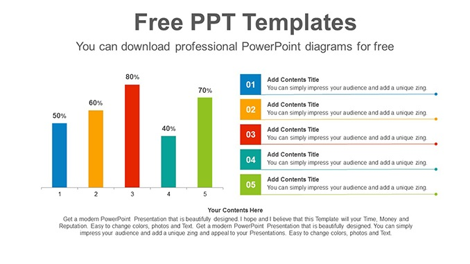 Vertical Bar Charts Slide Feature Image