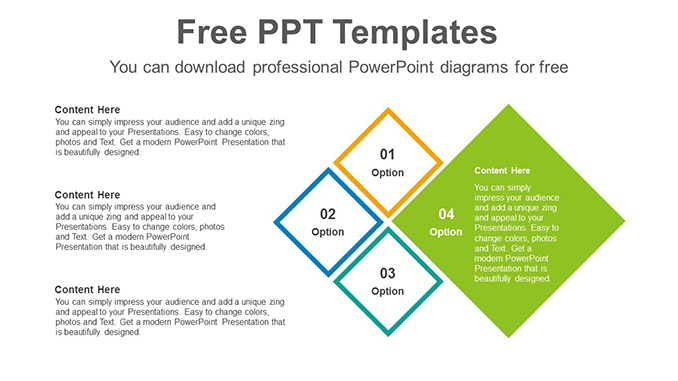 4-rhombic-combinations-PowerPoint-Diagram-Template-post-image feature image