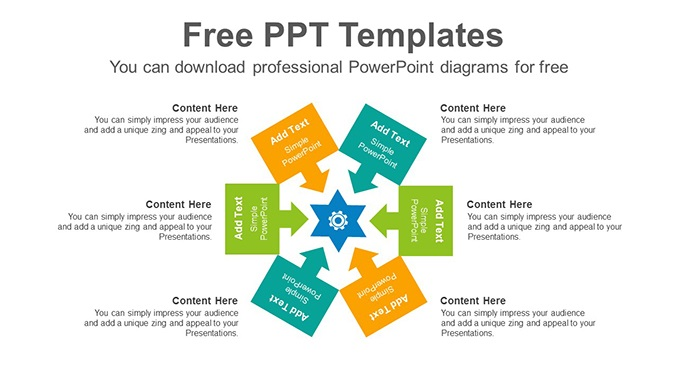 Arrow-centralizing-PowerPoint-Diagram-Template-post-image Feature image