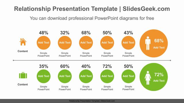 Circle-compare-list-PowerPoint-Diagram-Template Feature Image