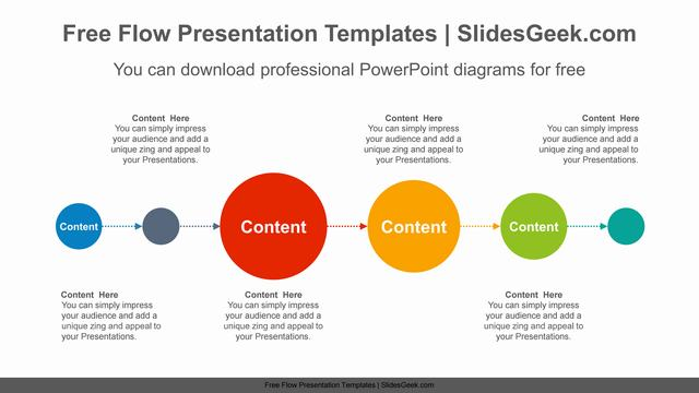 Colorful-Circle-Flow-PowerPoint-Diagram Feature Image