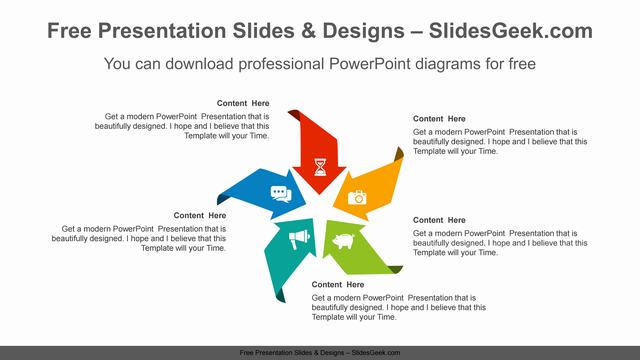 Concentrated-arrow-PowerPoint-Diagram-Template feature image