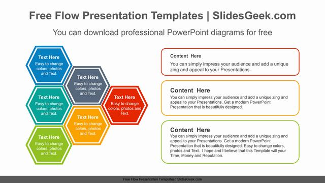 Connected-Hexagon-PowerPoint-Diagram Feature image