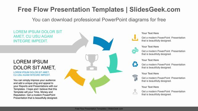 Curved-Arrow-Progress-PowerPoint-Diagram Feature Image