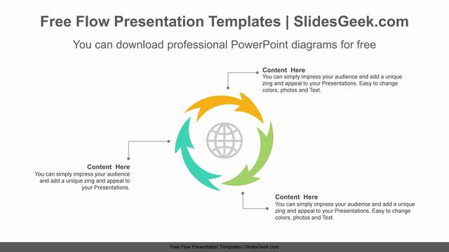 Curved-Progress-Arrow-PowerPoint-Diagram Feature Image