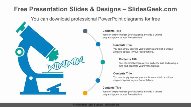 DNA-analysis-microscope-PPT-Diagram Feature Image
