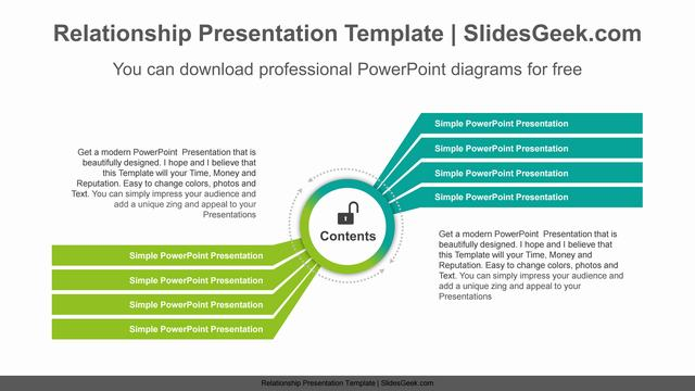 Diagonal-bent-banners-PowerPoint-Diagram-Template Feature Image