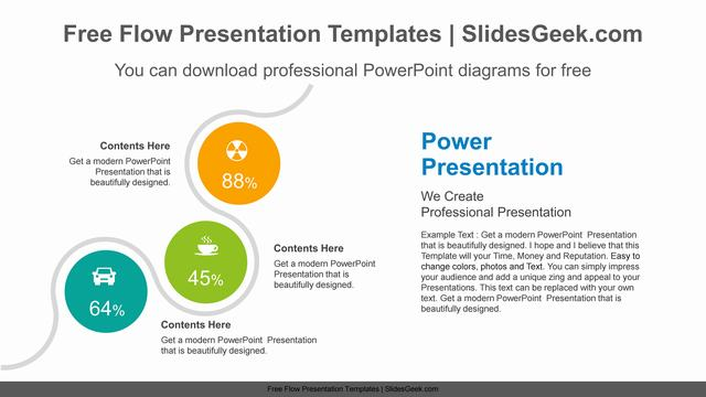 Diagonal-snake-like-PowerPoint-Diagram-Template Feature Image