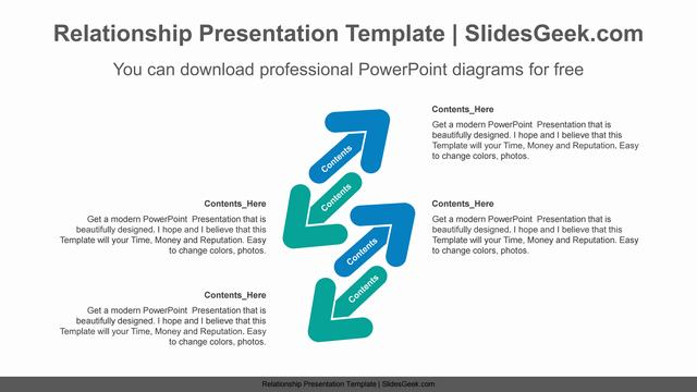 Diagonally-pointing-arrow-PowerPoint-Diagram-Template Feature Image
