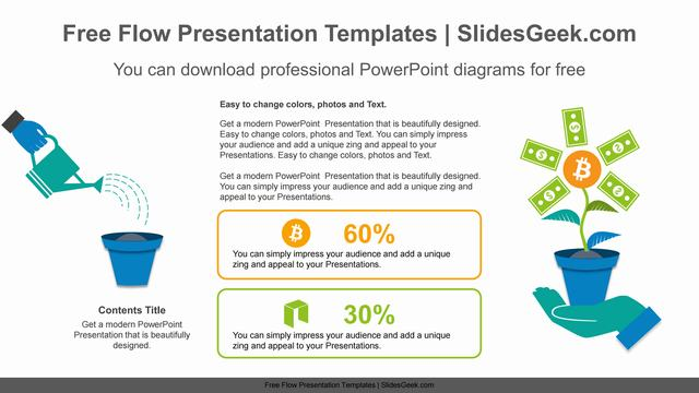 Dollar-flower-growth-PowerPoint-Diagram-Template Feature Image
