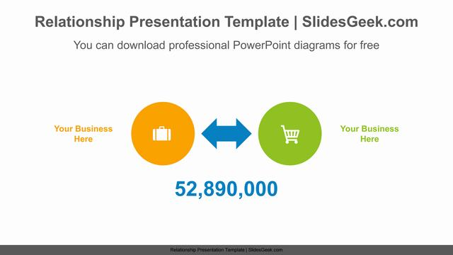 Double-sided-arrows-PowerPoint-Diagram-Template Feature Image