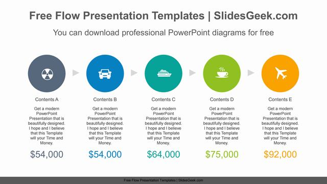 Five-circle-PowerPoint-Diagram-Template Feature Image