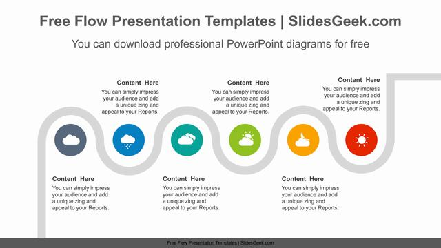 Flexible-snake-PowerPoint-Diagram-Template Feature Image