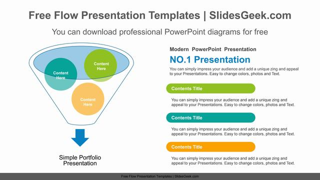Funnel-Divided-PowerPoint-Diagram Feature Image