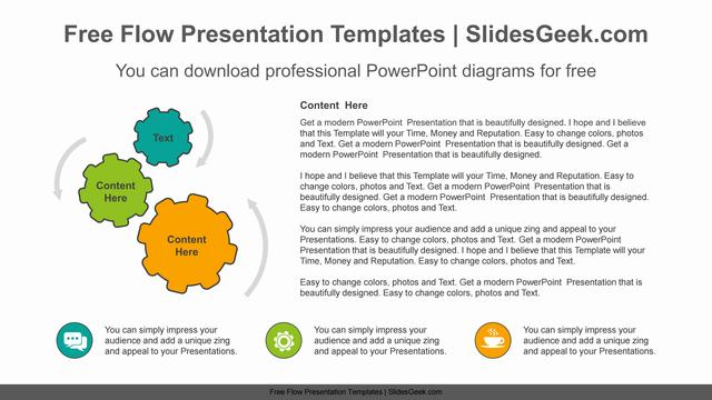 Gear-banner-PowerPoint-Diagram-Template Feature Image
