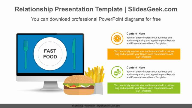 Good-Bad-Fast-Food-PowerPoint-Diagram Slide Feature Image