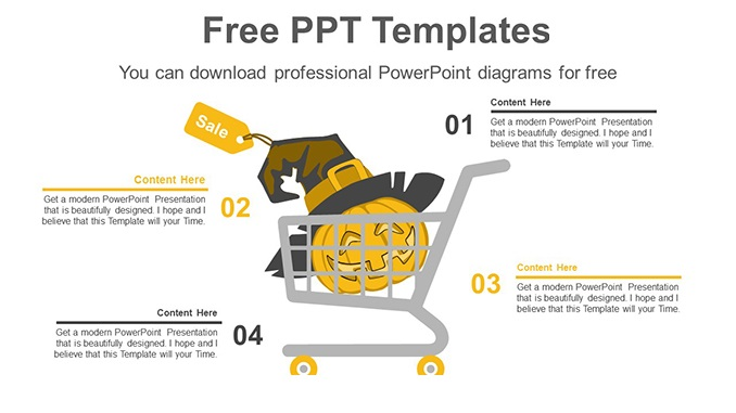 Halloween-Shopping-PowerPoint-Diagram-posting-image slide feature image