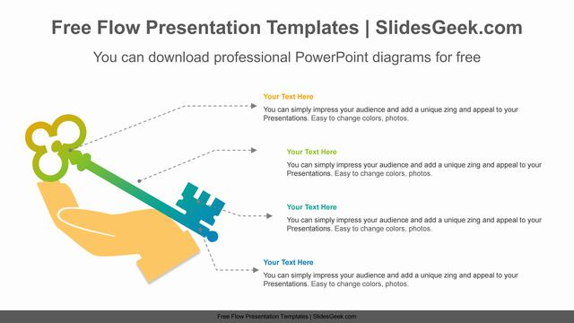 Hand-Holding-Key-PowerPoint-Diagram Feature Image