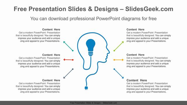 Head-bulb-PowerPoint-Diagram-Template feature image