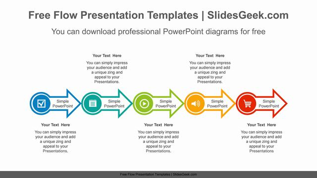 Horizontal-alignment-arrow-PowerPoint-Diagram-Template Feature Image