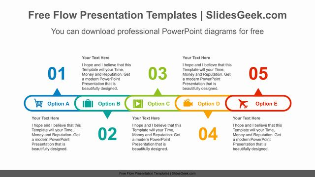 Horizontal-alignment-oval-PowerPoint-Diagram-Template Feature Image