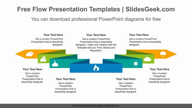 Horizontally-Twisted-Ribbon-PowerPoint-Diagram-Templates Feature Image