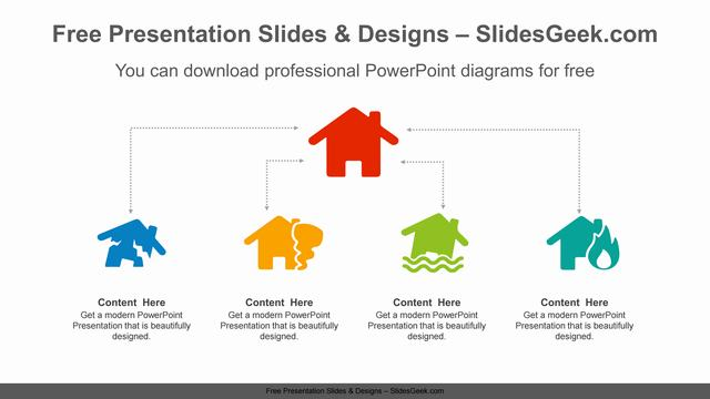 House-Icon-PowerPoint-Diagram-Template feature image