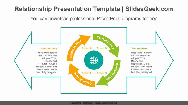 Large-double-headed-arrow-PowerPoint-Diagram-Template Slide Feature Image