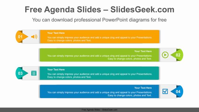 Origami-Banner-PowerPoint-Diagram Slide Feature Image