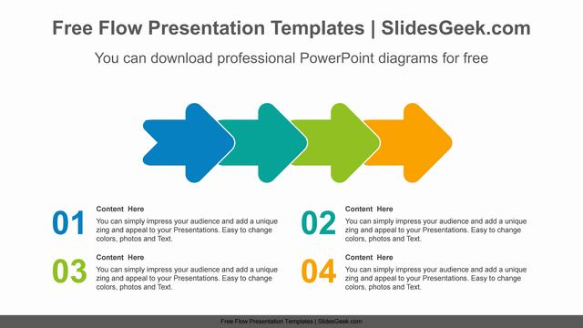 Overlapping-rounded-arrow-PowerPoint-Diagram-Template Feature image