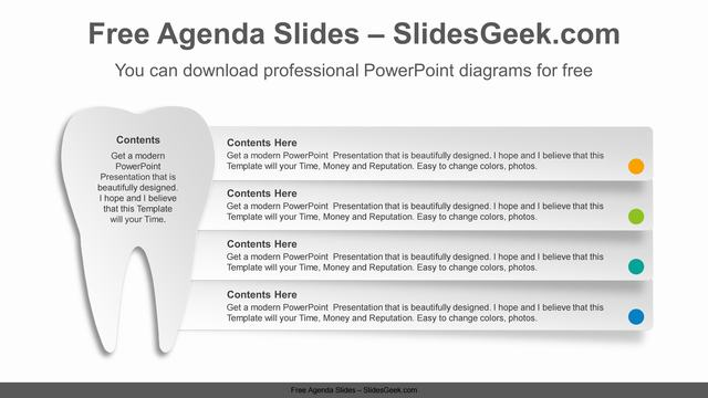 Paper-Texture-Tooth-PowerPoint-Diagram Feature Image