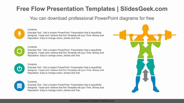 Person-lifting-dumbbell-PowerPoint-Diagram-Template feature image