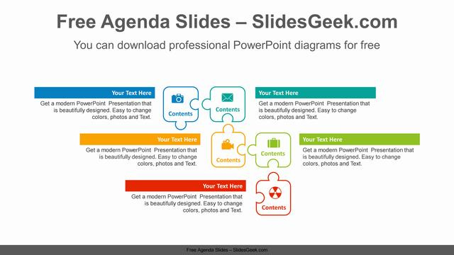 Puzzle-banner-PowerPoint-Diagram-Template Feature Image