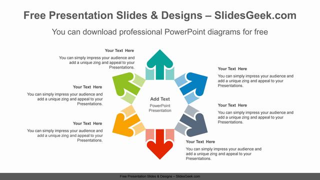 Radial-arrows-PowerPoint-Diagram-Template feature image