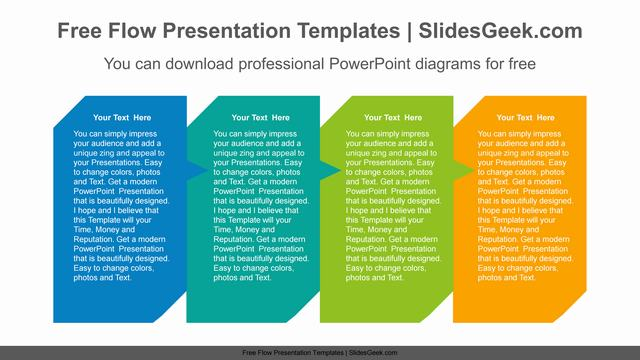 Colorful Rectangle-Banners-PowerPoint-Diagram Feature image