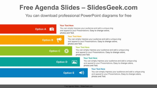 Ribbon-bars-banner-PowerPoint-Diagram-Template Feature Image