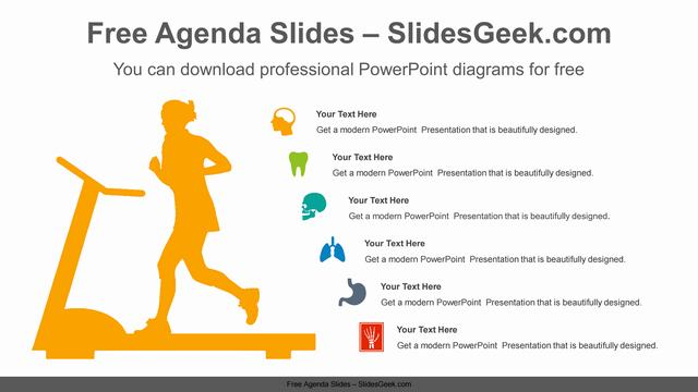 Running-woman-PowerPoint-Diagram-Template Feature Image