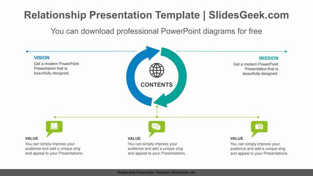 Semi-donut-arrow-PowerPoint-Diagram-Template Slide Feature Image